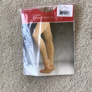 Other - Tan footless tights